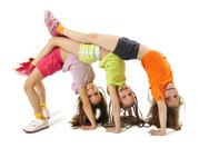 Гимнастика для детей с 3-8 лет в Минске